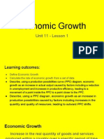 unit 11 - lesson 1 - economic growth