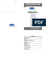 Manual for DG Dehumidifier En