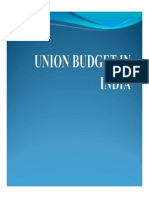 Hss-01 Indian Union Budget