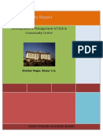 DPR-Chatiisgarh for Club Development