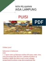 Puisi Bahasa Lampung