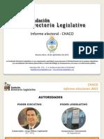 Informe Electoral - CHACO