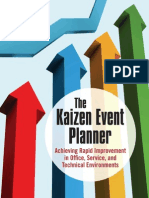 The Kaizen Event Planner Achieving Rapid Improvement in Office, Service and Technical Environments .