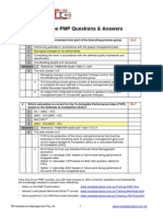 Free PMP Answers