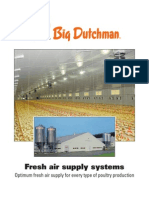 Poultry Production Climate Control Fresh Air Supply Systems Big Dutchman En