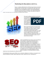 Posicionamiento Y Marketing En Buscadores web S.l.u.