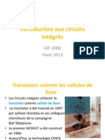 Introduction Aux Circuits Intégrés