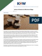 Americas Minimum Wage