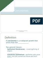 Carcinomas Presentation