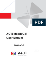 ACTi MobileGo! v1.1 User Manual 20110720