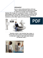 What is Direct Radiography Group Work