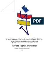Revista teórica Trimestral 4