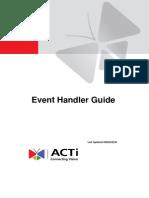 Event Handler Guide