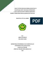 Outline Tugas Akhir Pt. Senamas Energindo Mineral