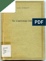 Schmitt Ex Captivitate Salus