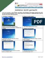 Installation Schritt für Schritt Windows