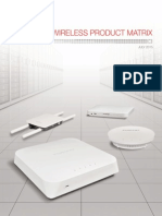 Wireless Product Matrix