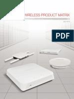 Wireless Product Matrix