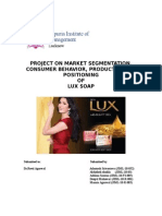 55342146 Project on Mm on Lux Soap