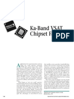 Ka Band VSAT Chipset Family
