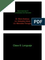 Clase 6 - Lenguaje
