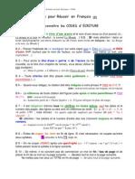 Codes d Ecritures a Connaitre