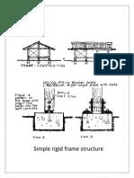 Simple Rigid Frame Structure