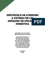 Protocolo Violencia domestica