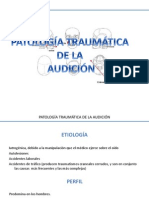Patologias Traumaticas de Oido