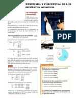 Composición Centesimal y Porcentual de Los Compuestos Químicos