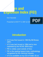 5.10 Dow Fire and Explosion Index