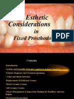 Esthetics in Fpd