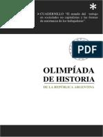 CUADERNILLO 2015 El Mundo Del Trabajo en Sociedades No Capitalistas y Las Formas de Resistencia de Los Trabajadores