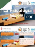 La psicologia escolar