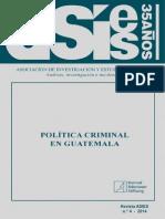 Politica Criminal en Guatemala