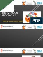 Tareas de Atención e Intervención Psicológica