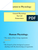 Lecture-I Introduction to Physiology