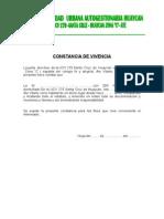 Constancia de Vivencia 2015 Cirilo