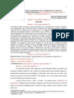 Instruções Para Elaboração de Artigos (2013.2)