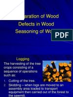 Lec 5 Preparation, Defects & Seasoning of WoodLEC2
