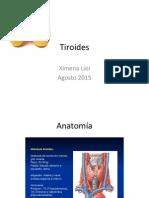 Semilogía de Tiroides