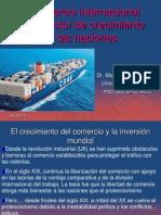El Comercio Internacional Como Factor de Crecimiento