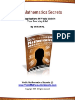 216306945 Vedic Mathematics Secrets