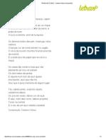 TREM DAS CORES - Caetano Veloso (Impressão)