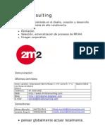 2m2 Consulting dirección