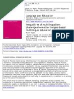 Tupas Language and Education 2014