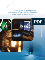 Non-binding Guide to Good Practice for Implementing Directive 2006 25 EC
