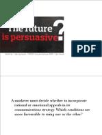Persuasive Communications