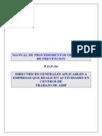 Manual de Procedimientos Operativos Prevencion (Exintores, Plan de Mergencia)
