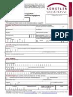 Anmeldeunterlagen-Fragebogen-Ausfuellhinweise-Infoschrift-Aktuelle Werte in Der SV JAE 2016